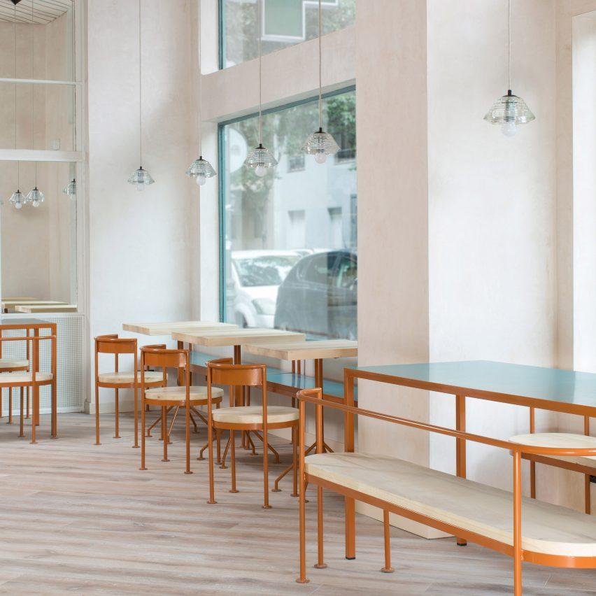 Juana Limon cafe by Lucas y Hernandez Gil
