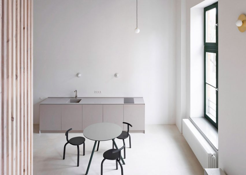 K916 holiday apartment designed by Thisispaper Studio