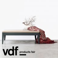 Eva Natasa introduces new tables and chairs at VDF products fair
