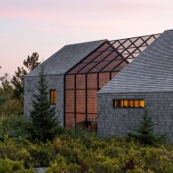 Couple builds themselves cedar-clad retreat Little Peek on Maine island Vinalhaven