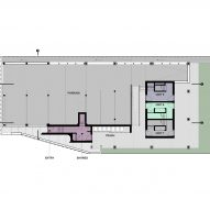 Marginal Housing 3.0 by Merge Architects Ground Floor Plan