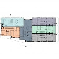 Marginal Housing 3.0 by Merge Architects Second Floor Plan