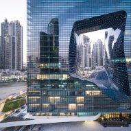 ME Dubai hotel at the Opus by ZHA