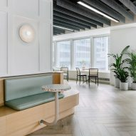 "Format Architecture Office imbues Manhattan office with ""boutique sensibility"" and cafe seating"