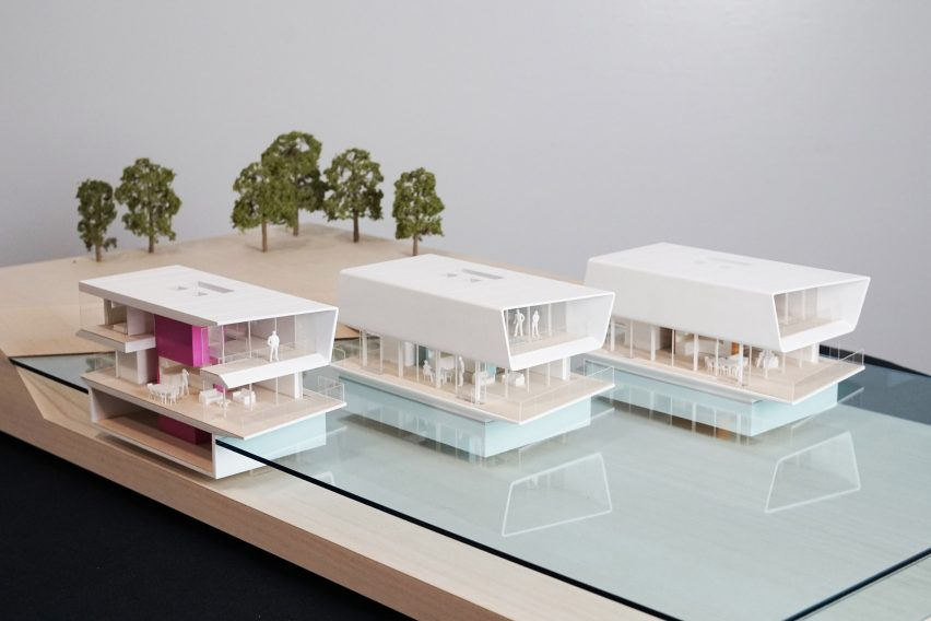 Modular Water Dwellings by Grimshaw Architects