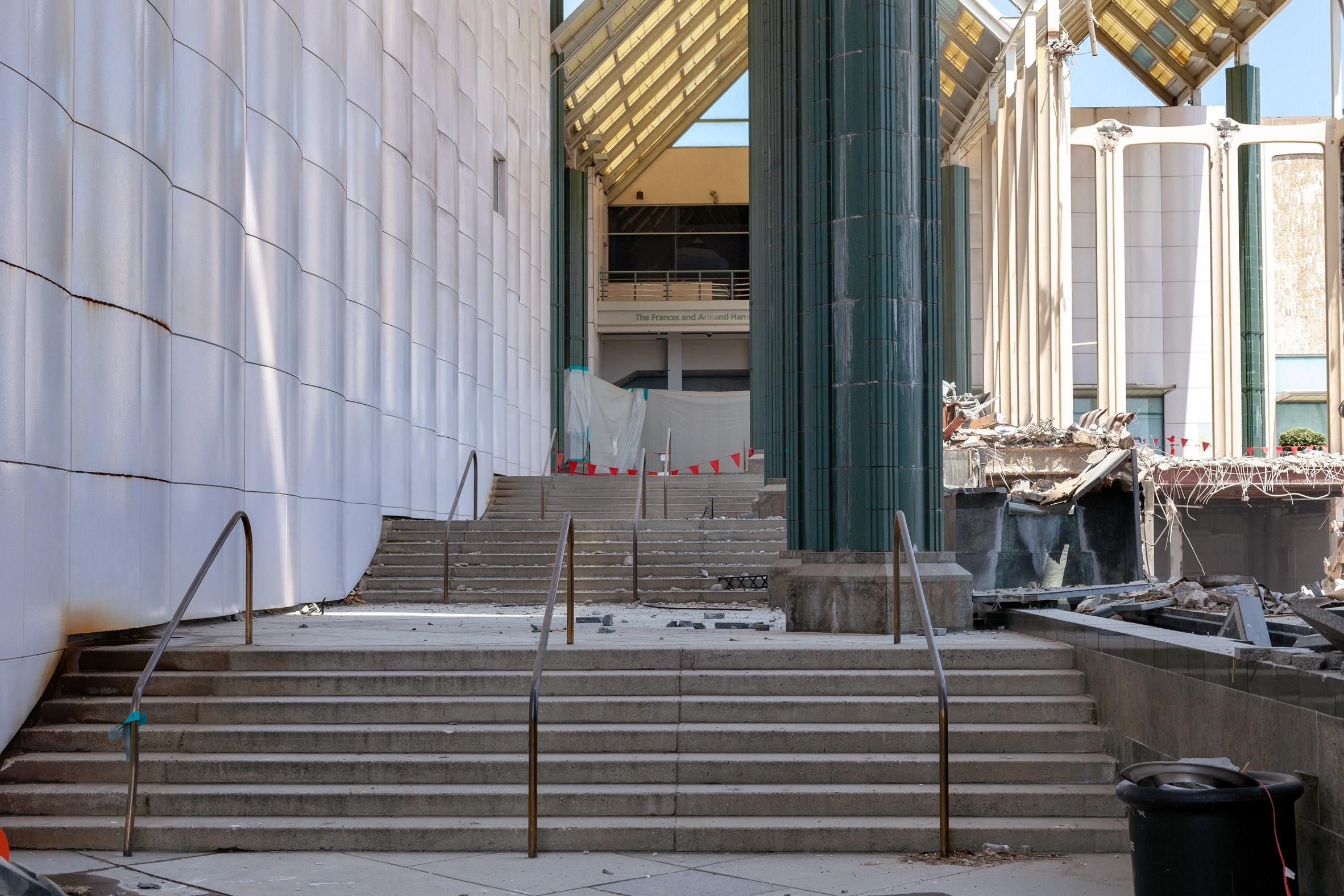 Photography reveals demolition of LACMA buildings during coronavirus pandemic