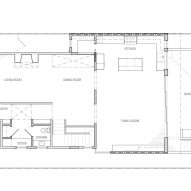 Noe Valley Residence by Malcolm Davis Architecture First Floor Plan
