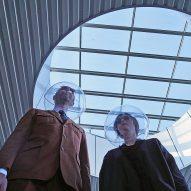 Plastique Fantastique makes iSphere mask informed by 1950s sci-fi comics