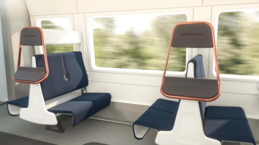 PriestmanGoode updates its Island Bay train seating for socially distanced London commutes