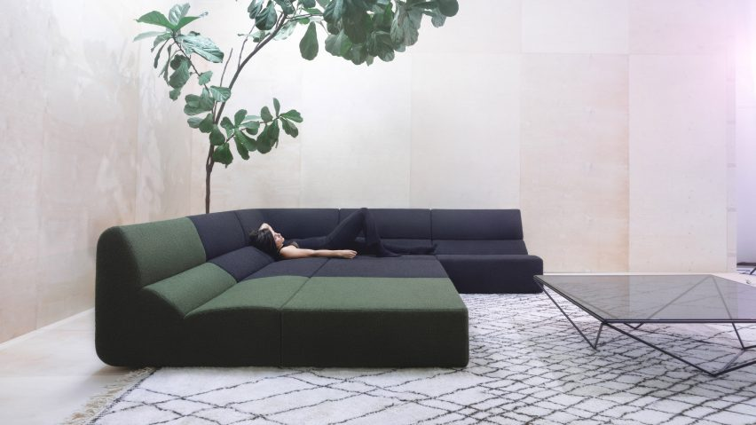 Layout sofa by Numen/ForUse for Prostoria