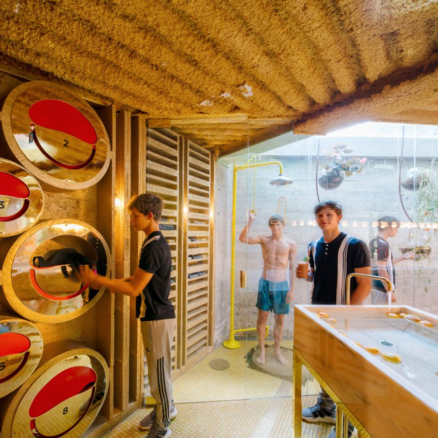 Run Run Run cafe in Madrid, designed by Office for Political Innovation