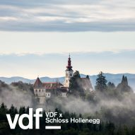 Tour of design exhibition at historic Austrian castle with curator Alice Stori Liechtenstein as part of VDF
