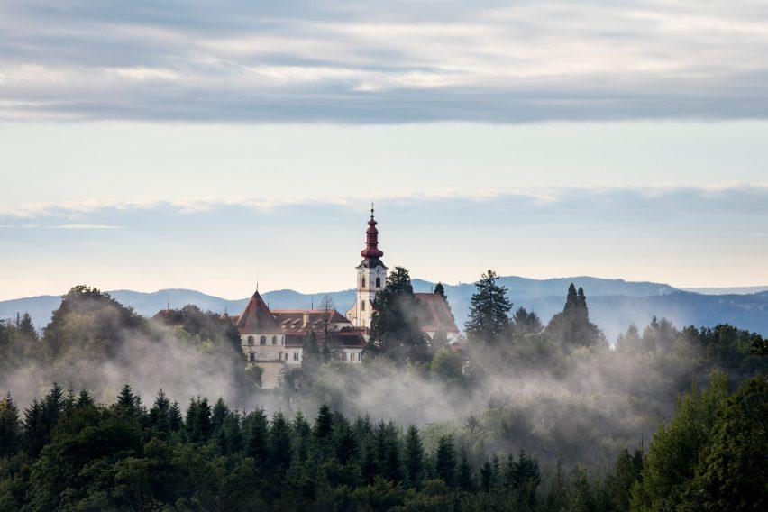 Schloss Hollenegg is the seat of the Liechtenstein family
