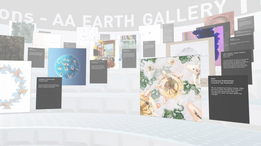Virtual Reality art gallery by Space Popular
