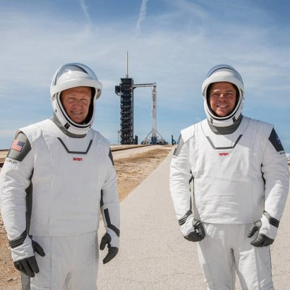"NASA to revive ""worm"" logo and debut SpaceX spacesuits"