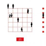Caret Studio installs grid-like social distancing system in Italian plaza