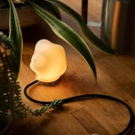 Table Lamp by Bocci for VDF products fair