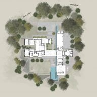 The Preston Hollow by Specht Architects Site Plan