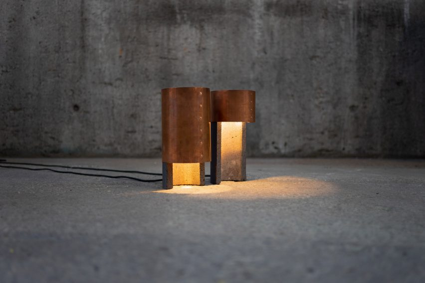 "Studio ThusThat creates objects from ""overlooked"" byproducts of the copper industry"