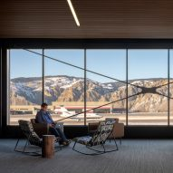 Gensler expands and remodels Colorado airport with cosy yet contemporary interiors