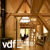 "Invisible Studio ""started as a voyage of self-build discovery"" says Piers Taylor in film for VDF"