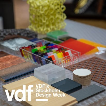 VDF x Stockholm Design Week Materials Library
