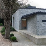 Walmer Castle and Gardens learning centre and cafe designed by Adam Richards Architects