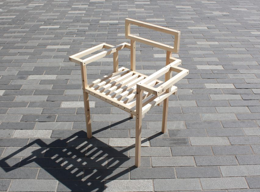 Tom and Will Butterfield invite designers to reimagine 19 bare timber chairs