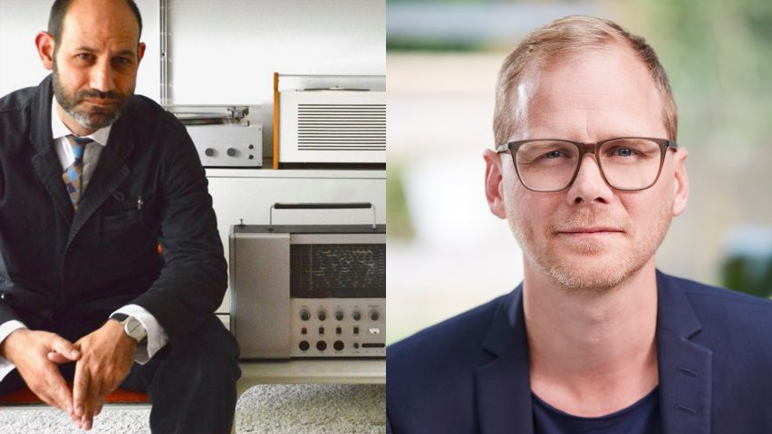 Braun designer Benjamin Wilson and German curator and writer Dr Peter Kapos speak to Dezeen in a live talk as part of Virtual Design Festival