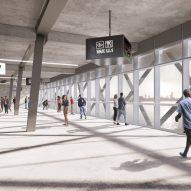 Feyenoord Stadium by OMA and LOLA Landscape Architects