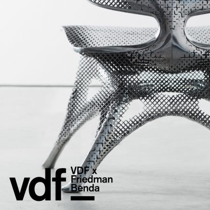 Aluminium Gradient Chair by Joris Laarman