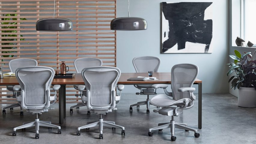 Aeron by Bill Stumpf and Don Chadwick for Hermann Miller