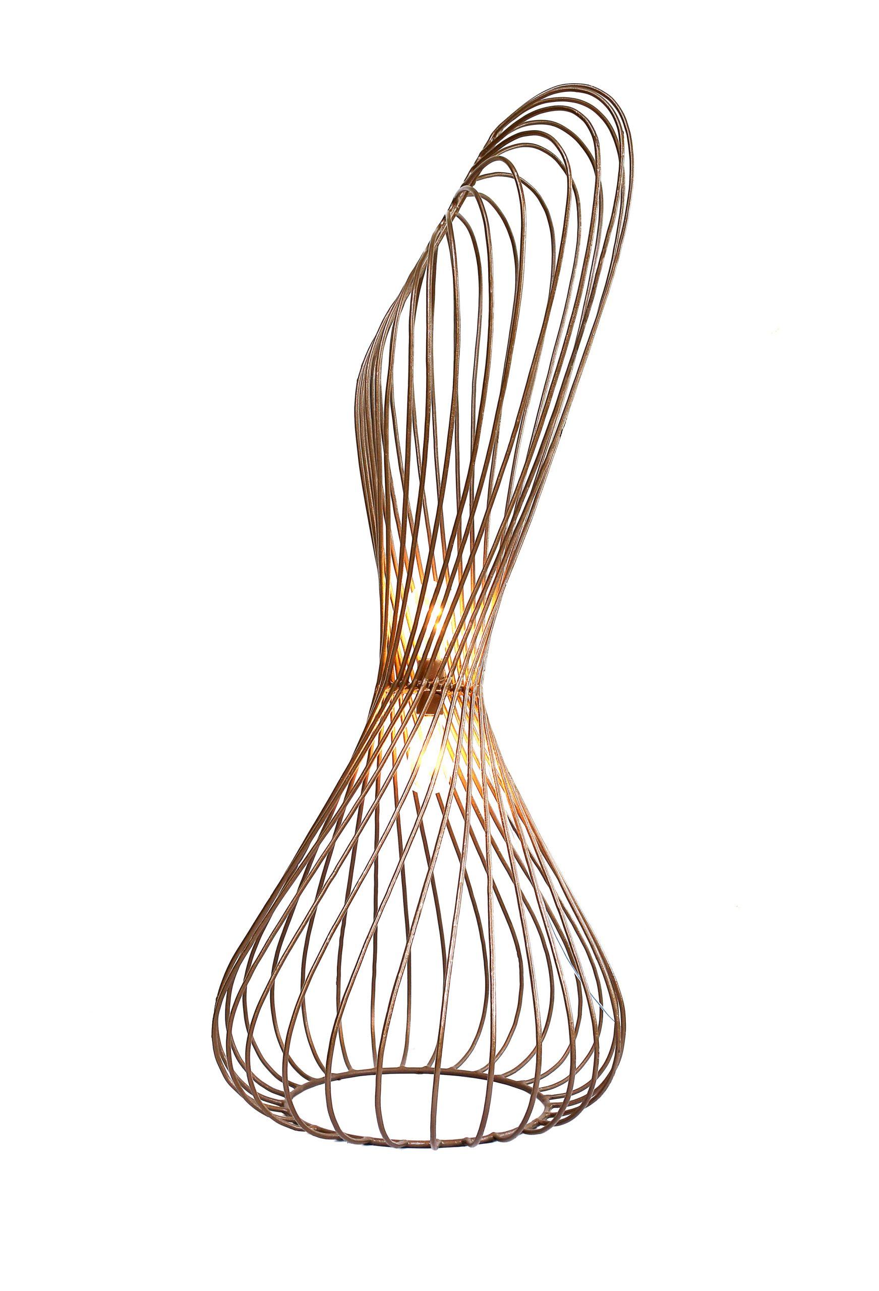 Africa by Design: Sisi Eko floor lamp by Studio Lani