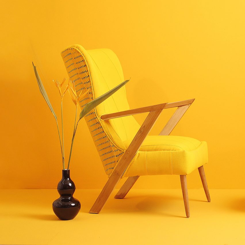 Africa by Design: Àdùnní armchair by Ile Ila