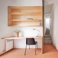 Mas-aqui gives 1910s house in Barcelona a minimalist update