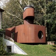 Atelier Vens Vanbelle tops cinematic guesthouse with watchtower
