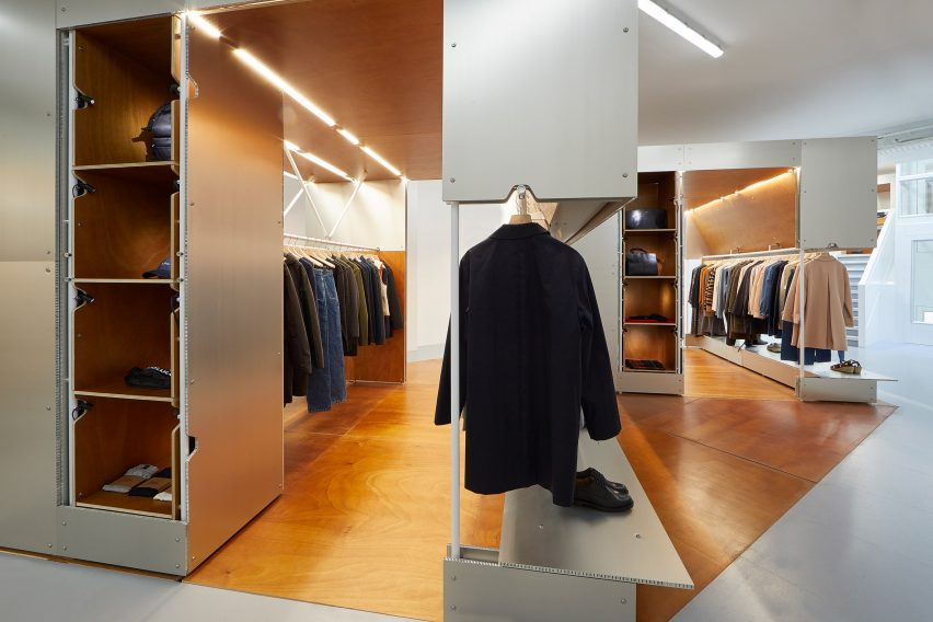APC London store by Laurent Deroo Architecte