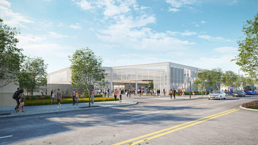 Arts Complex at Santa Monica College by Grimshaw