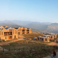 Sharon Davis Design builds rammed-earth hospital in Nepal