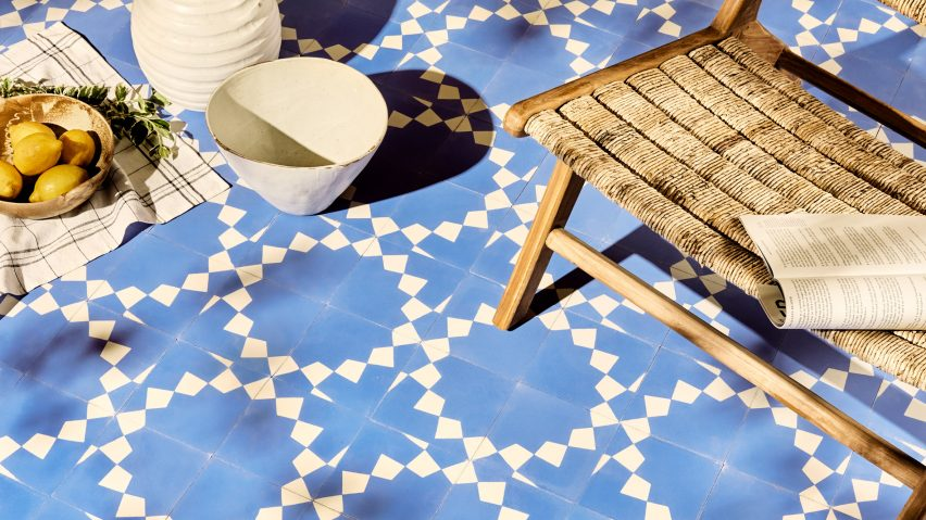 Artisanal tile collection by Bert & May