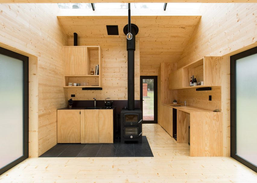 Bruny Island Cabin by Maguire + Devin