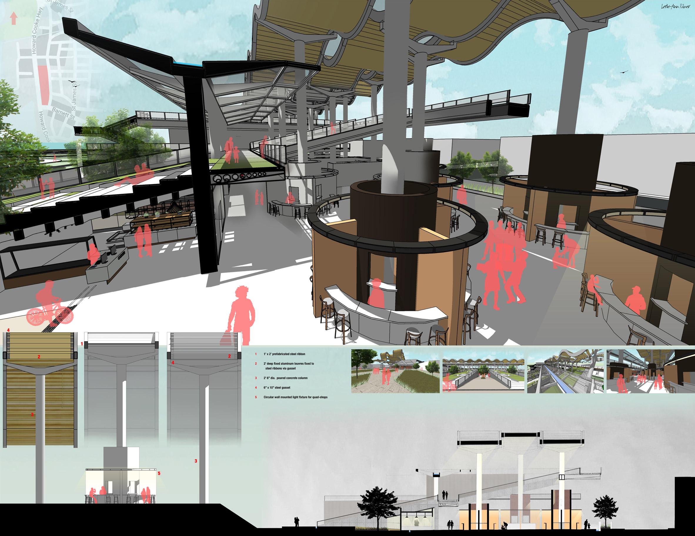 Caribbean School of Architecture students reimagine city for public good