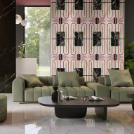 Chimera surface tiles by Elena Salmistraro for Florim