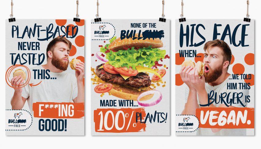Bulls**t Free Burger by Becky Ward