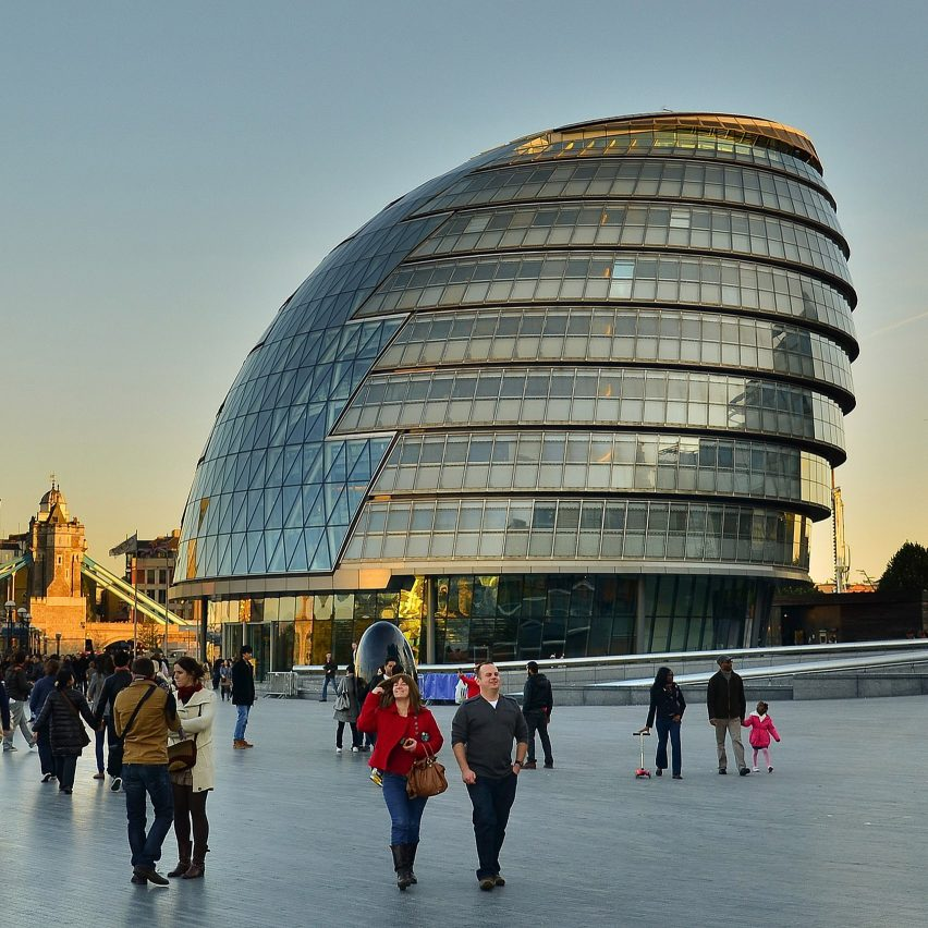 City Hall in London by Foster + Partners