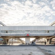 Cobe and Arup unveil elevated Metro station in Copenhagen docklands