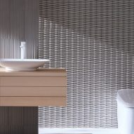 Crescent Border tiles by INAX