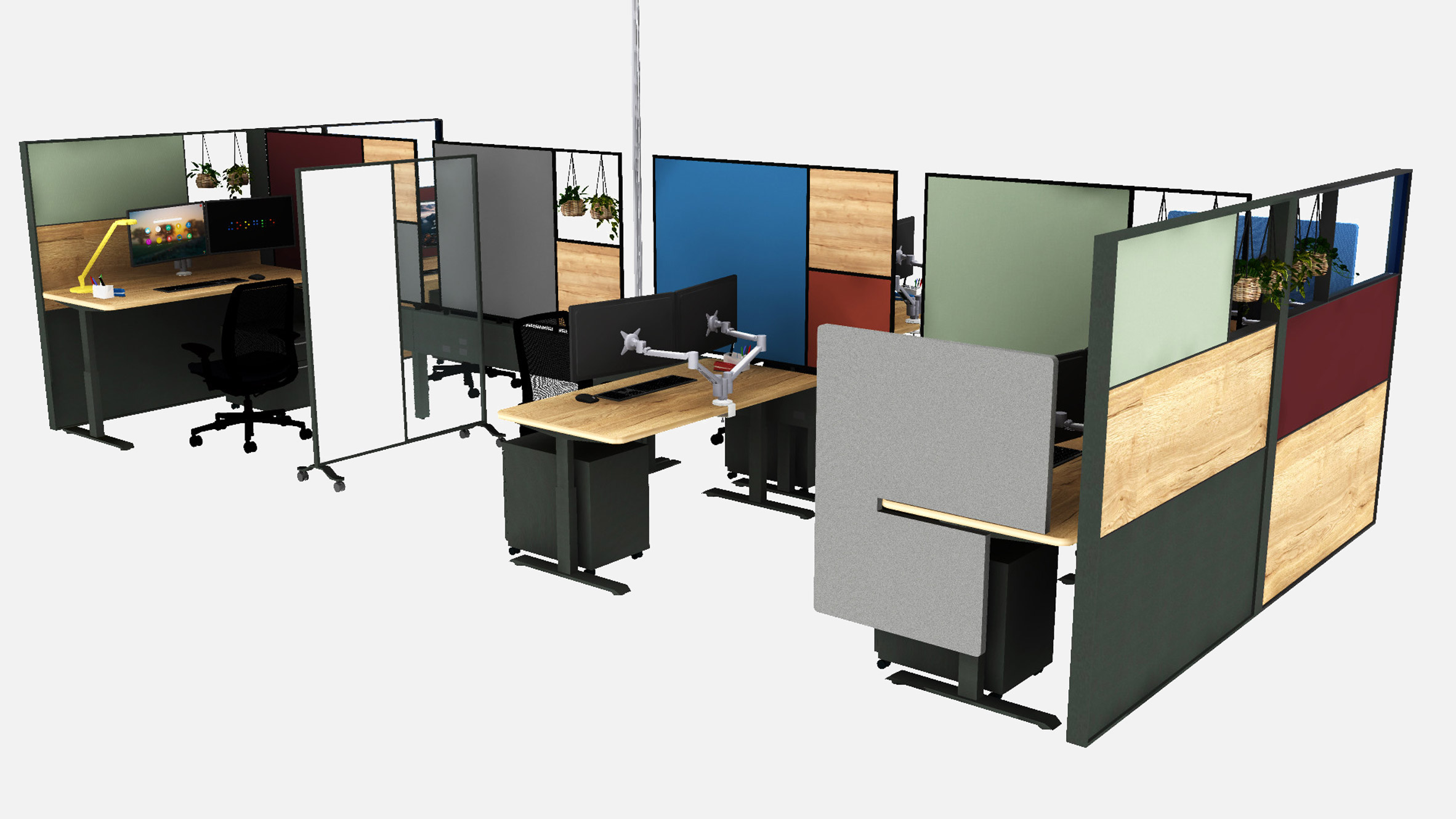 Post coronavirus cubicle will become normal says Paul Ferro of Form4 Architecture