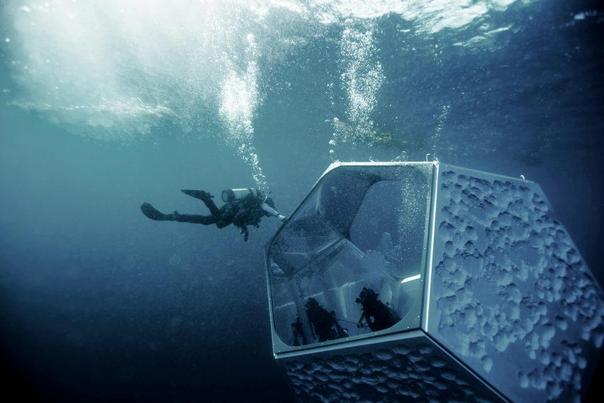 Artist Doug Aitken collaborated with Parley for the Oceans