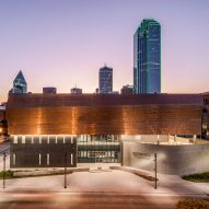 Copper panels adorn Dallas Holocaust and Human Rights Museum